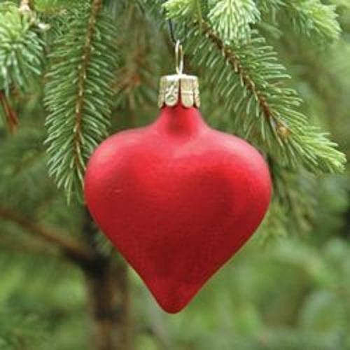 heartchristmastreeornament