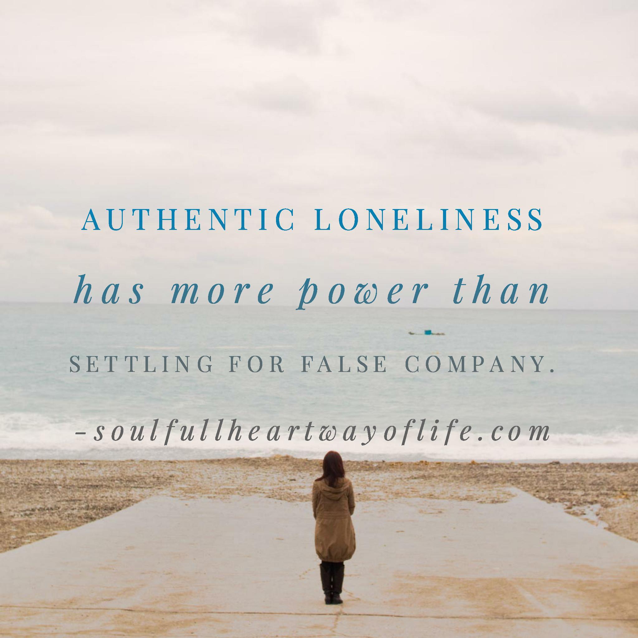 authentic-loneliness