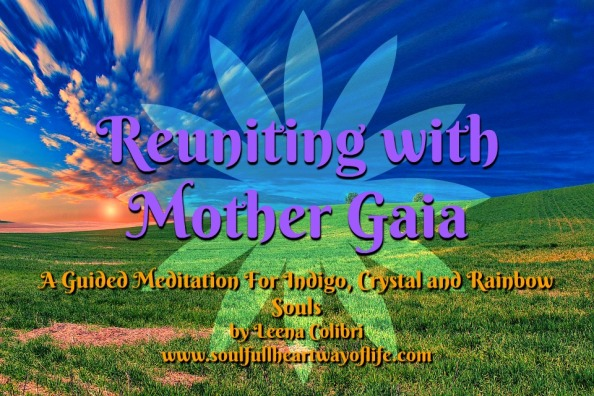 reunion with Mother Gaia cover