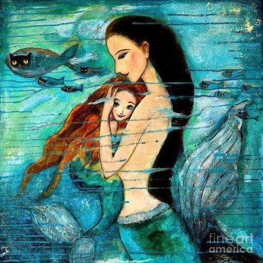 mermaid-mother-and-child-shijun-munns