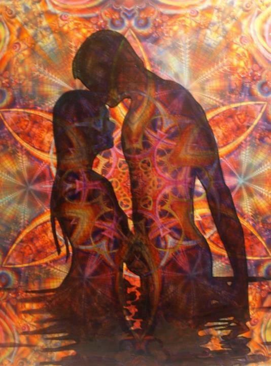 Sacred sexuality art