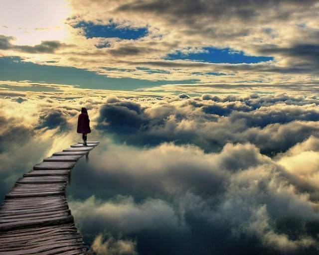 path-in-clouds