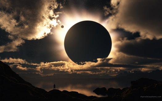solar-eclipse-clouds-man-light