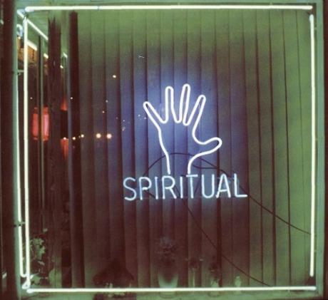spiritual neon sign