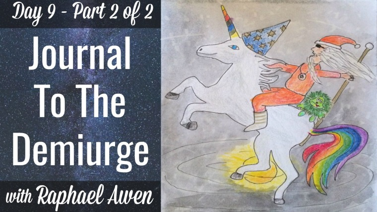 Journal To The Demiurge with Raphael Awen