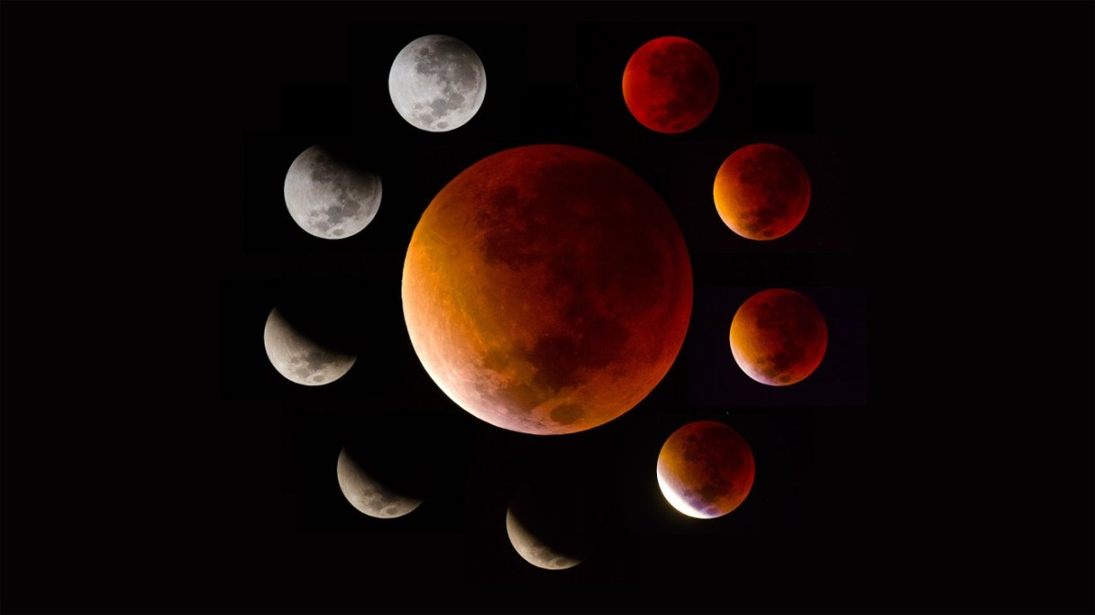 Energy Update: Prep For Super Blood Moon Total Lunar Eclipse Invites Shadow Integration