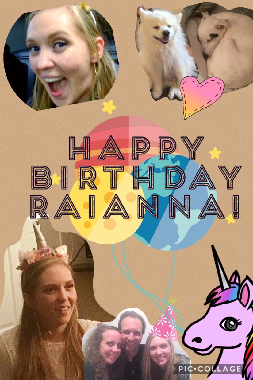 For Raianna: Happy 24thBirthday!